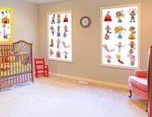 Zara Circus In a Baby's Nursery