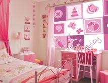 Child's Pink Bedroom