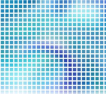 Blue Mozaic 2