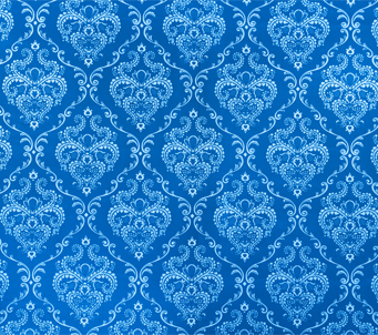Blue Wall Paper
