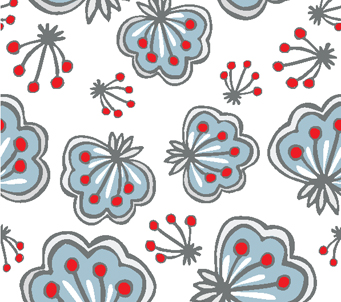 Butterfly Floral Pattern