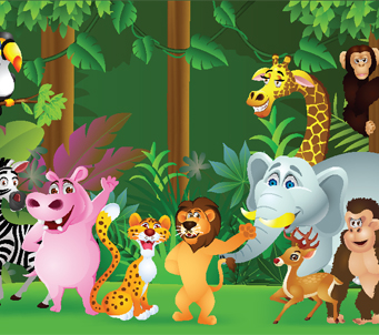 Cartoon Jungle