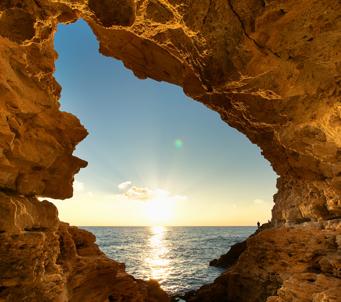 Cave Sunset