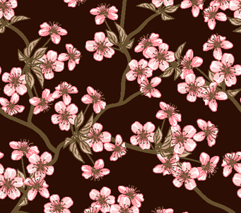 Cherry Blossem Pattern