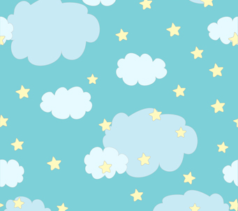 Cute Clouds and Stars