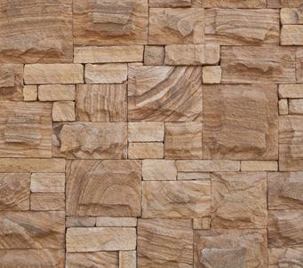 Decorative Sandstone Wall