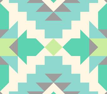 Ethnic Pattern Mint Tints