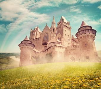 Fantasy Fairy Castle