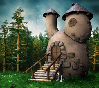 Fantasy Gnome Cottage