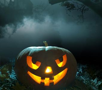 Fantasy Halloween Pumpkin