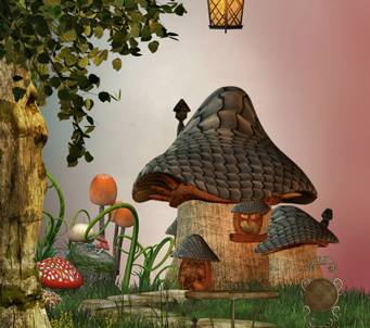 Fantasy MushroomHouse