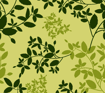 Forest Leaves Pattern