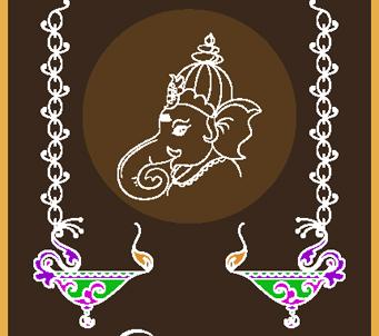 Ganesha Diwali Design 2
