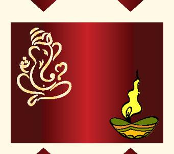Ganesha Diwali Design 4