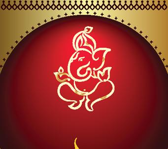 Ganesha Diwali Design