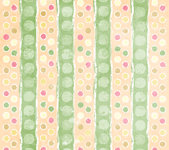 Green Striped Spot Pattern