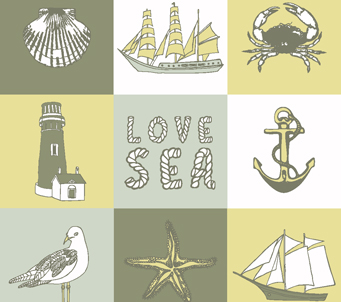 Hand Drawn Sea Collection