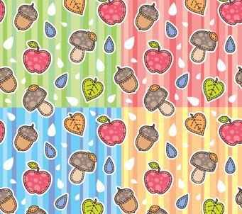 Kids Acorn Pattern