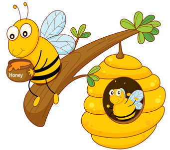 Kids Bumble Bee and Honey