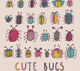 Kids Cute Bugs