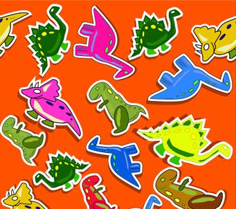 Kids Dino Pattern