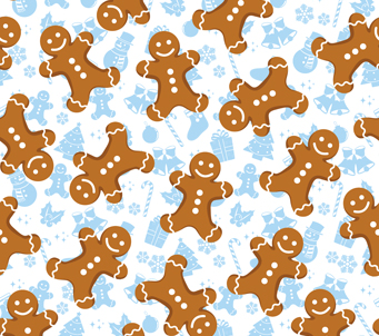 Kids Gingerbread Men