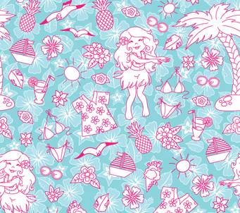 Kids Holiday Girl Pattern