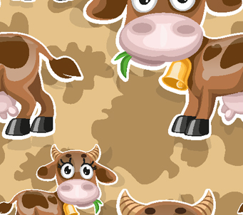 Kids How Now Brown Cow