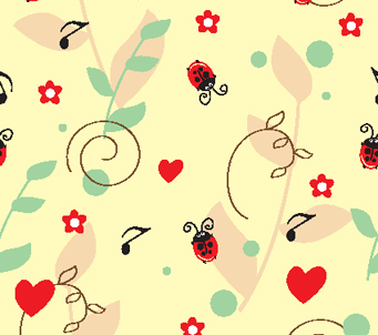 Kids Musical Lady Birds