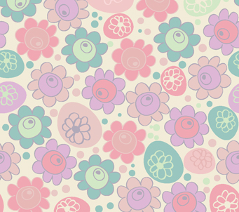 Kids Pink Flowers