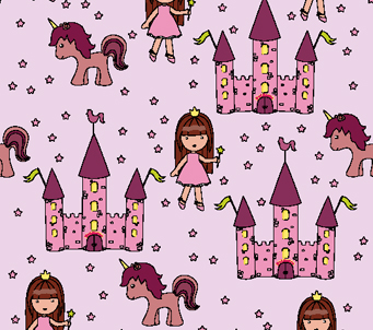 Kids Princess Wallpaper
