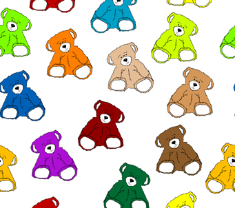 Kids Rainbow Teddies
