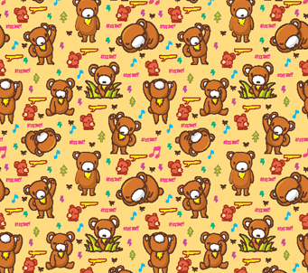 Kids Teddy Pattern