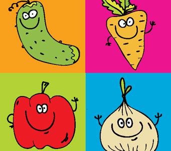 Kids Vegetables