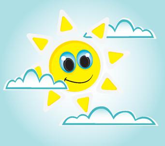 Kids large Sun