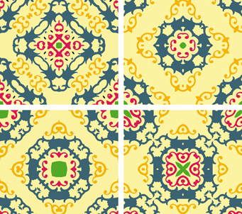 Modern Baroque Pattern