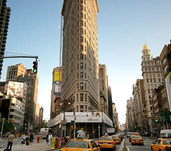 NYC Iron Building