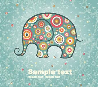 Paisley Elephant 2