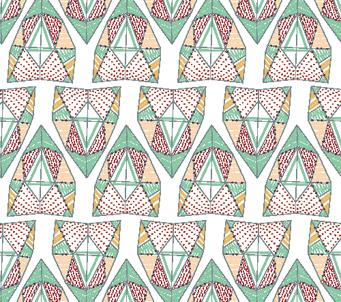 Pastel Aztec Pattern