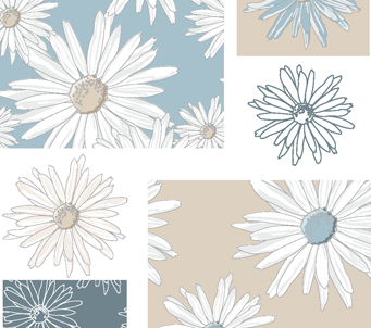 Patchwork Daisy