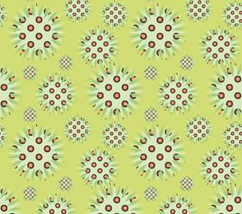 Pattern Spiky Ornaments