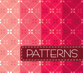 Pink Diamond Vintage Pattern