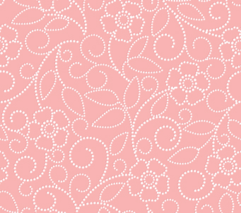 Pink Dot Flower Pattern