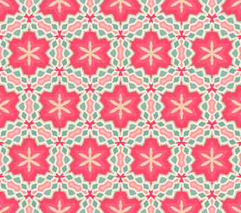 Pink Geometric Wallpaper