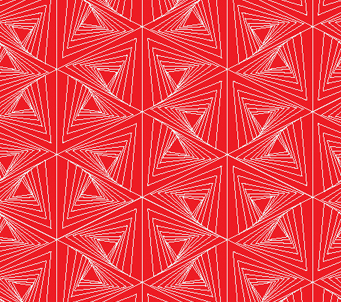 Red and White Mesh Pattern