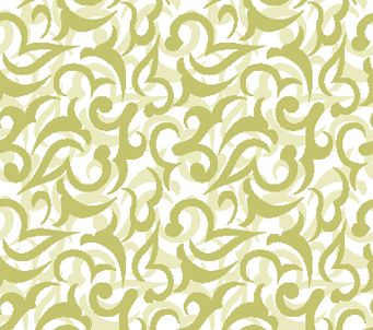 Royal Swirl in Gold Pattern