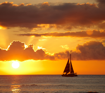 Sail Boat Sunset