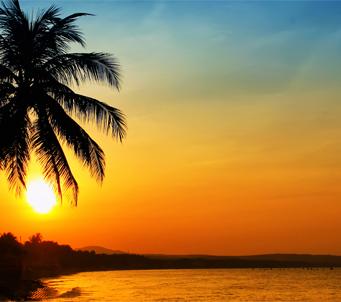 Sunrise on Sea Vietnam