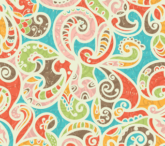 Swirly Colourful Pattern
