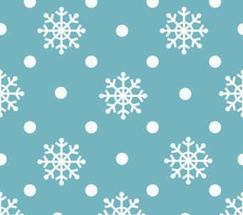 Wallpaper 5 snowflakes